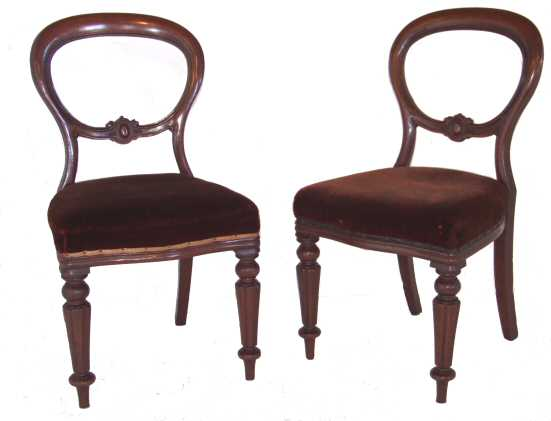 CHAIR DINING VICTORIAN Chair Pads amp Cushions : 121096victorianballoonbackdiningchairs05 from chaileather.net size 551 x 421 jpeg 16kB