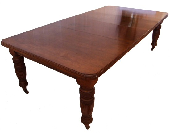 late victorian walnut extending dining table to seat 10. Black Bedroom Furniture Sets. Home Design Ideas