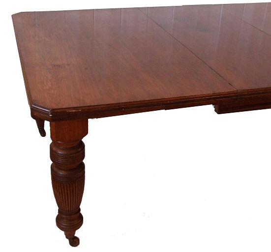 Late Victorian Walnut Extending Dining Table To Seat 10