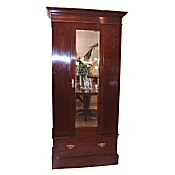Edwardian inlaid wardrobe