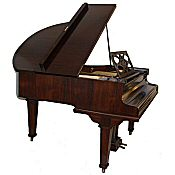 cramer rosewood antique baby grand piano