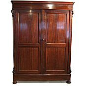 large Victorian french Armoire