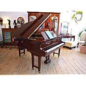 Zeitter and Winklemann boudoir grand piano