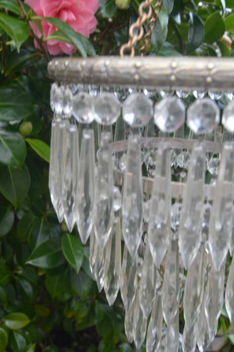 Edwardian 3 tier icicle chandelier edwardian 3 tier icicle chandelier with silver plated period cast brass frame aloadofball Gallery