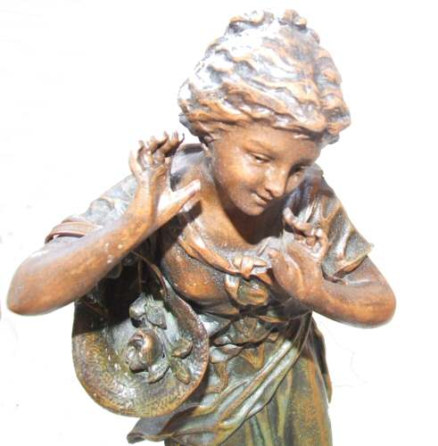 spelter single girls Antique spelter statues/don juan/don caesar/cavalier statues/muller and sons/ gift for him/spelter sculptures/metal art sculptures  silver quartz cat earring/cat  lover gift/amethyst february birthday/boho/single earring/for cat lover/unisex  jewelry/gift for her  antique spelter statue,artist signed , peasant girl statue.