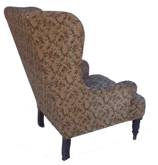 Large comfortable edwardian armchair from harbour antiques for Large comfy armchairs