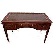 Edwardian inlaid desk