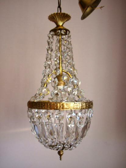 Sold chandeliers edwardian purse chandelier sold mozeypictures Gallery
