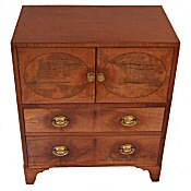 Small Regency chest/nightstand