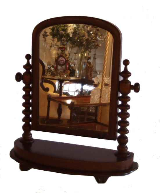 Victorian mahogany dressing table mirror from harbour Antiques, Bideford,  Devon specialising in antique gilt mirrors, antique dressing table mirrors,  ... - Victorian Mahogany Dressing Table Mirror From Harbour Antiques