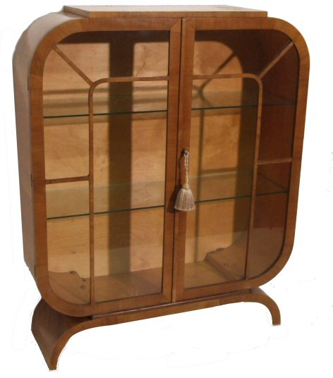 Art Deco display cabinet from harbour Antiques, Bideford, Devon ...