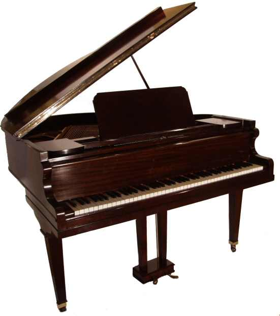 Antique Baby Grand Piano By Collard And Collard From
