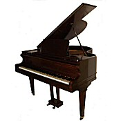 antique baby grand piano by Collard and Collard