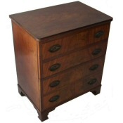 small Regency commode