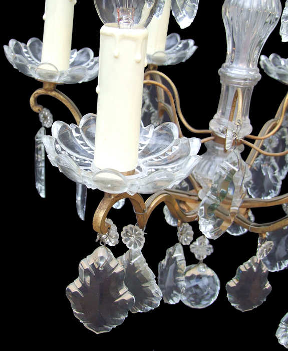 6 Arm French Louis Xv Chandelier