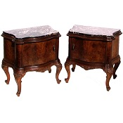 Stunning Pair of Matching Bedside Cabinets